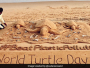 On World Turtle Day, Odisha's Puri Beach Sends Out A Message Of Beat Plastic Pollution Through Sand Art