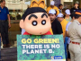 'Go Green, There Is No Planet B', Says Shin Chan And Garfield At 'Say No To Plastic' Walk In Mumbai