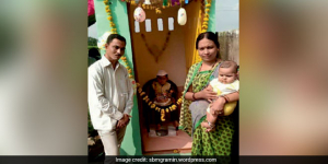 Toilet - Ek Happy Birthday: A Couple In Maharashtra Spread Awareness About Swachh Bharat Abhiyan, Celebrate Son's Birthday In A Toilet