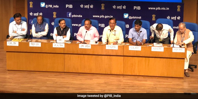 Curtain Raiser For World Environment Day 2018: Union Environment Minister Dr Harsh Vardhan Appeals For A Plastic Free India