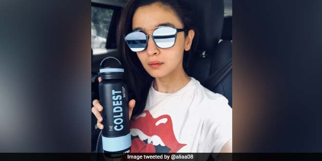 Alia Bhatt Accepts Dia Mirza's #BeatPlasticPollution Challenge, Gives Up The Use Of Plastic Bottle