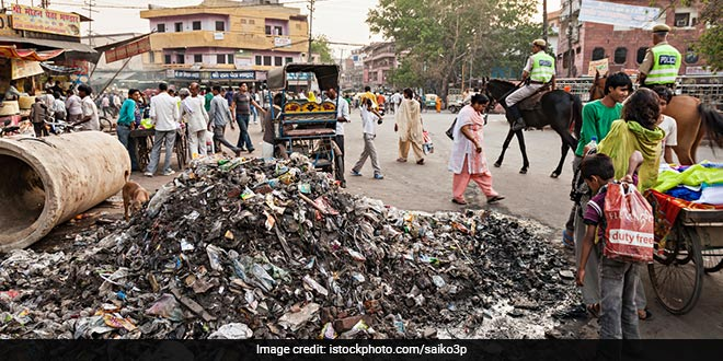 Agra's sanitation workers have gone on strike since May 25