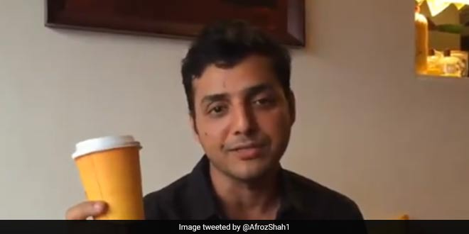 'I Am Refusing Single-Use Plastic Cups For #WorldEnvironmentDay. What Will You Do? Environmentalist Afroz Shah Asks Amitabh Bachchan And Anushka Sharma
