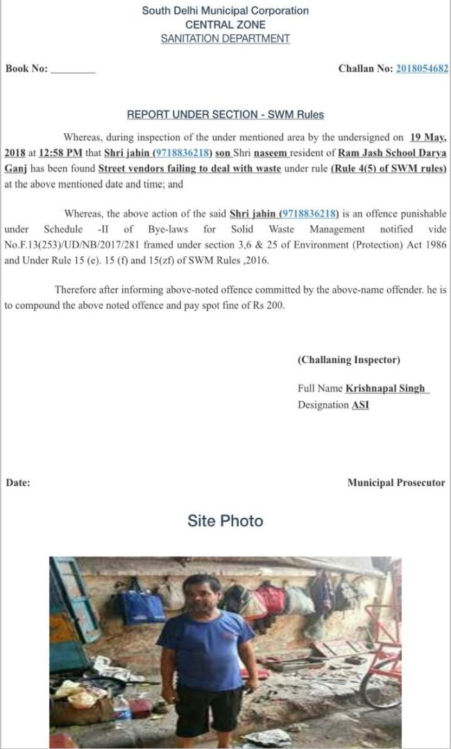 South Delhi Municipal Corporation Issues 11,000 Mobile Challans On Waste Disposal, Recover Rs. 26 Lakhs In Just Two Weeks
