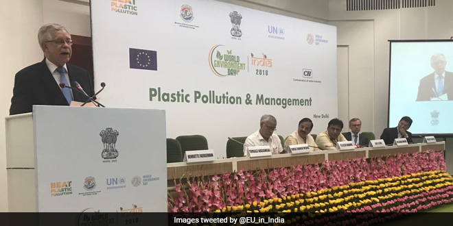 EU in India committed to work towards dealing with environmental pollution