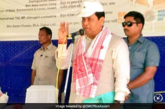 Assam CM Sarbananda Sonowal appealed to people to beat plastic pollution