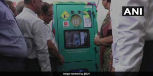 Indian Railways Goes Green, Offers Rs 5 Cashback For Dropping Plastic Bottle In A Crushing Machine At Vadodra Station