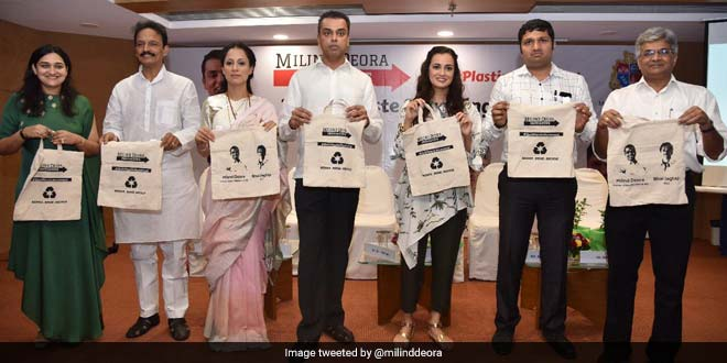 By June 17, 200 Buildings In South Mumbai Will Go Plastic-Free, Says Milind Deora As He Officially Launches #QuitPlasticMovement