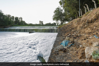 The NGT came down heavily on UP municipalities for continued flow on sewage into Ganga