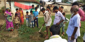 To Go ODF, Residents Of Bihar's Sitamarhi District Dug Over 56,000 Toilet Pits In A Single Day
