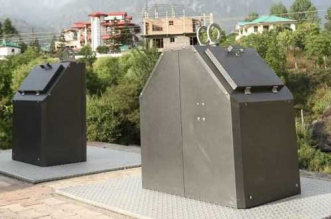 Waste Management: Dharamshala's solution to littering and garbage pile up on roads – underground smart bins