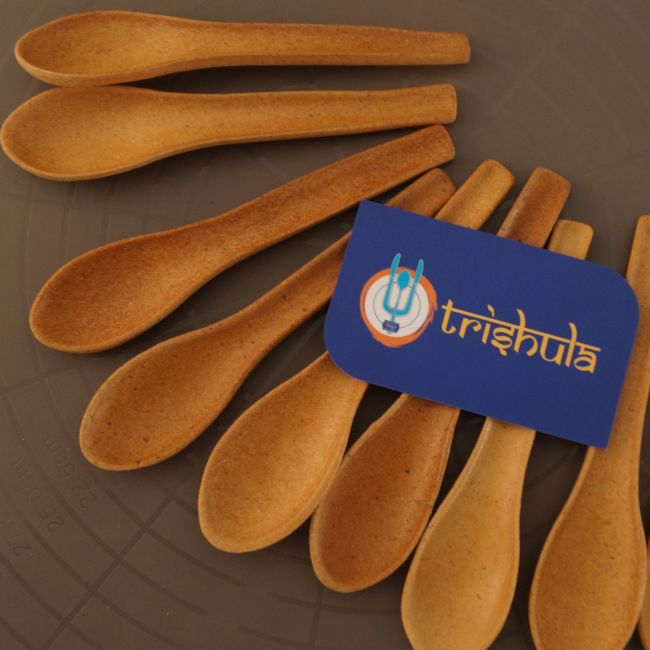 Grab A Spoon And Eat It: A Swachh Warrior From Gujarat Brings Biodegradable Edible Spoons To Your Table