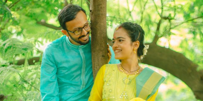 Mumbai Couple Express Love For Each Other And The Environment By Going Green On Their Wedding