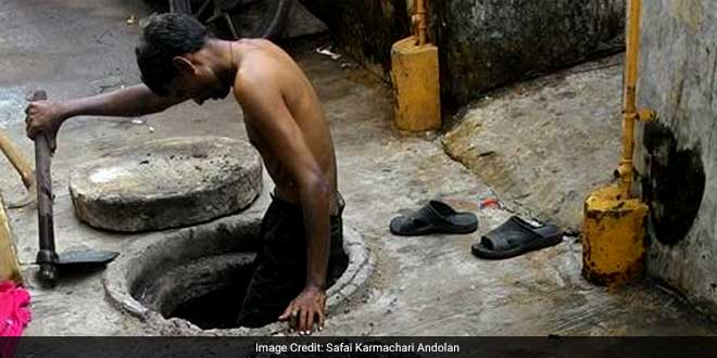 Uttar Pradesh has more than half of the country's manual scavengers