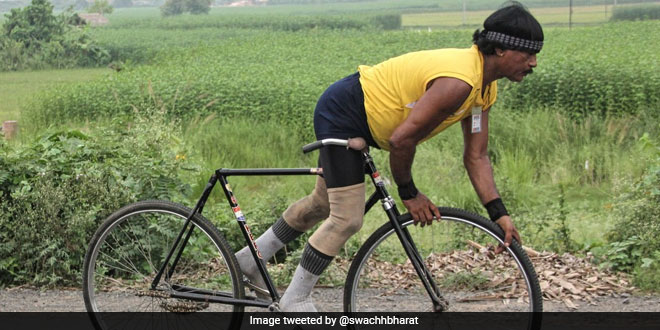 Bengal Cyclist To Travel Across India On Cycle Sans Break, Seat To Promote Swachh Bharat