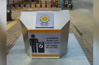 Surat has installed 43 underground waste bins to tackle litter menace