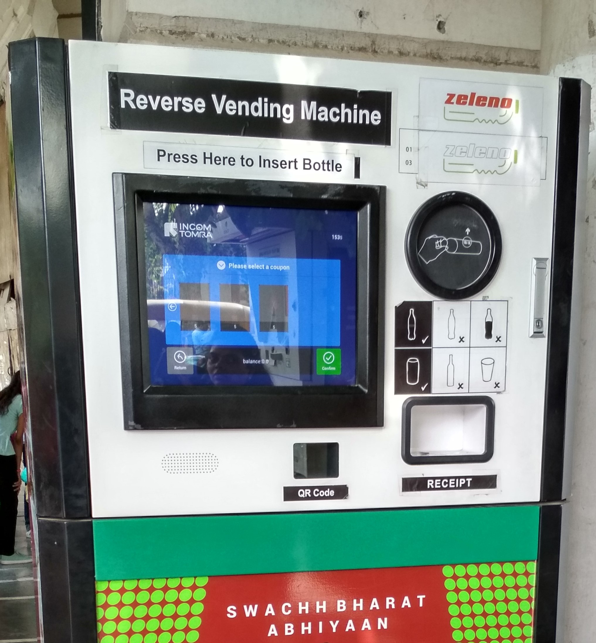 I Discovered A Reverse Vending Machine To Deposit A Plastic