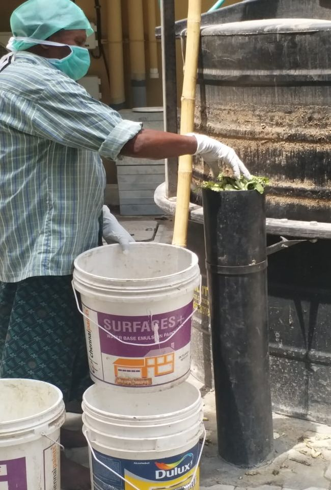 Waste To Energy This Chennai College Uses Vegetable Waste To