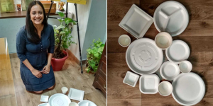 To Fight Plastic Pollution And Its Health Hazards, This Delhi Based Entrepreneur Ventures Into Making Eco-friendly Tableware