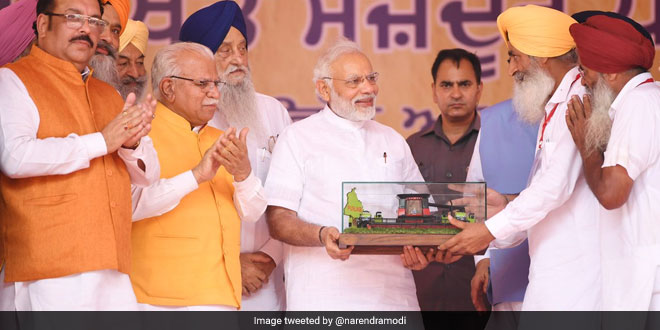 Prime Minister Narendra Modi said that the Centre was taking the issue of stubble burning seriously