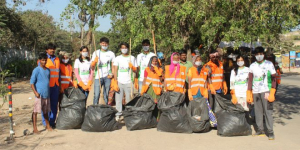 To Make Hyderabad Clean, Young Engineers Are Participating In Clean-Up Activities Over The Weekends
