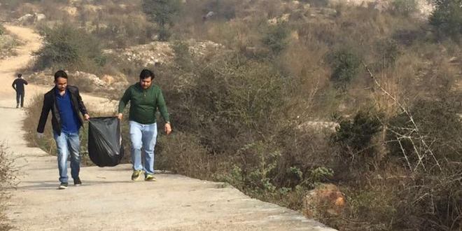 Garbage Dump Turned In To A Biodiverse Park To Keep City Clean Under 'IAmGurgaon' Campaign