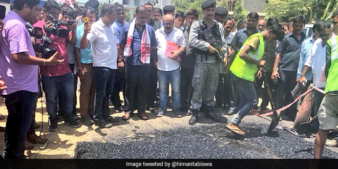 Plastic Waste Management: 100 metre road in Guwahati will be built using plastic waste