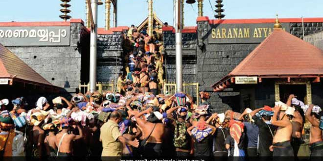 Kerala High Court imposes ban on Sabarimala Temple
