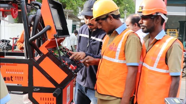 Bid Adieu To Manual Scavengers And Meet Bandicoot, A Robot That Will Clean Sewers In Tamil Nadu