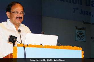 Vice President Venkaiah Naidu lauded WHO's praise of the Swachh Bharat Abhiyan