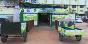 How A Waste Management Project Started In Madurai's Parking Lot Is Producing Organic Vegetables