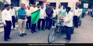 Bareilly Takes Baby Steps Towards ODF Plus Status, Flags Off Garbage Collection Tricycles