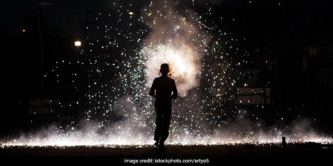 Air Pollution Firecrackers manufacturers argued in the Supreme Court that firecrackers aren't responsible for toxic air