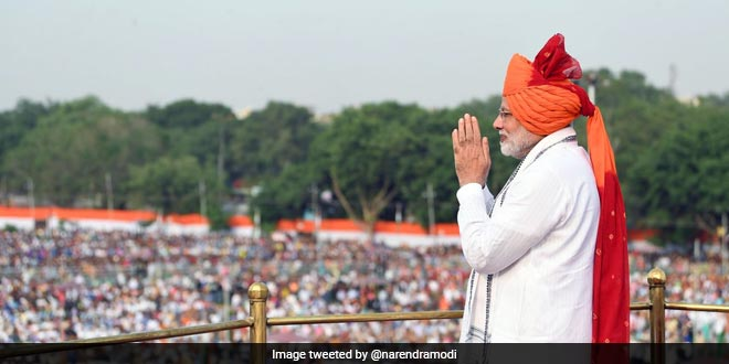 Lakhs of Indian children are leading healthier lives because of Swachh Bharat Abhiyan, said PM Modi in his Independence Day speech
