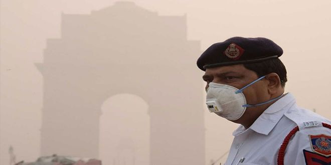 The TERI study said that about 13 per cent pollution of Delhi comes from outside of India