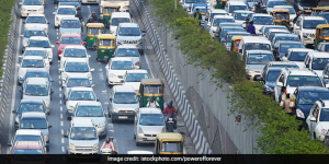 To Combat Air Pollution, Vehicles In Delhi To Get Coloured Hologram Stickers