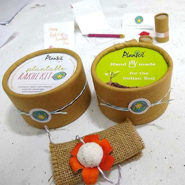 From Pencils And Notepads To Rakhis, Here's How This Duo From Tamil Nadu Is Making Plantable Products