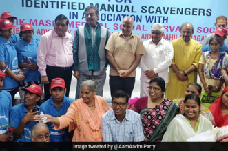 The programme will see 28 manual scavengers trained on housekeeping skills