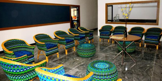 Retyrement Plan How Mumbai S Anu Tandon Is Creating A Unique Line Of Furniture Using Waste Waste Warriors