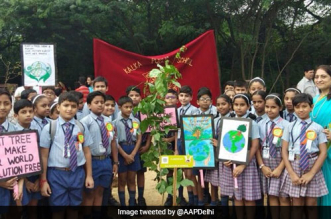 A Battle Against Air Pollution: Delhi CM Arvind Kejriwal Launches Mega Drive To Plant 5 Lakh Saplings In A Day