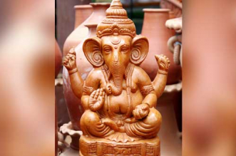 Ganesh Chaturthi special Make eco-friendly Ganesh idols with clay