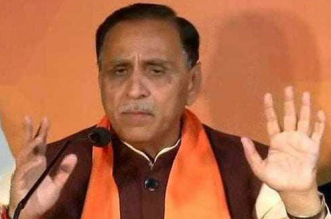 Chief Minister Vijay Rupani Joins Cleanliness Campaign At A Civic Hospital In Ahmedabad