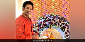 Sachin Tendulkar Celebrates Green Ganesh Chaturthi, Opts For Ganpati Visarjan At Home
