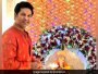 Sachin Tendulkar Celebrates Green Ganesh Chaturthi, Opts For Ganpati Visarjan At Home