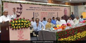 Let's Make Bihar Open Defecation Free Before October 2, 2019: Chief Minister Nitish Kumar