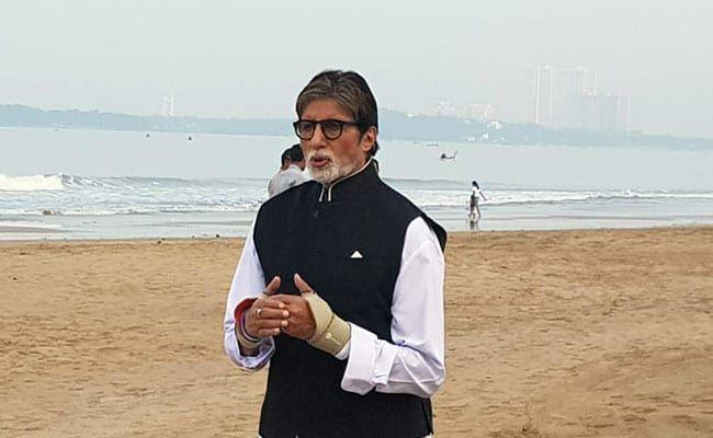 NDTV क्लीनाथॉन में अमिताभ बच्चन बोले, महात्मा गांधी के स्वच्छ भारत का सपना अभी पूरा नहीं हुआ है
