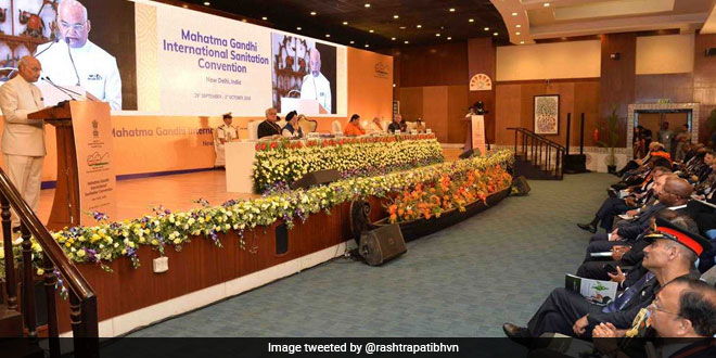 Swachh Bharat Mission, A People's Movement Will Soon Reach Its Goal: President Kovind