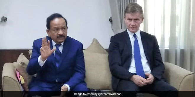 Technologies Developed To Tackle Pollution To Be Showcased In Global Meets Union Minister Harsh Vardhan