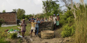 Locals In Bihar's West Champaran District Upcycle Plastic Waste To Construct A Urinal