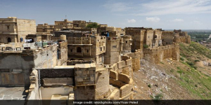 Jaisalmer Fort, 850 Year Old Monument, In Danger Of Sinking Due To Prevailing Sanitation, Water Issues